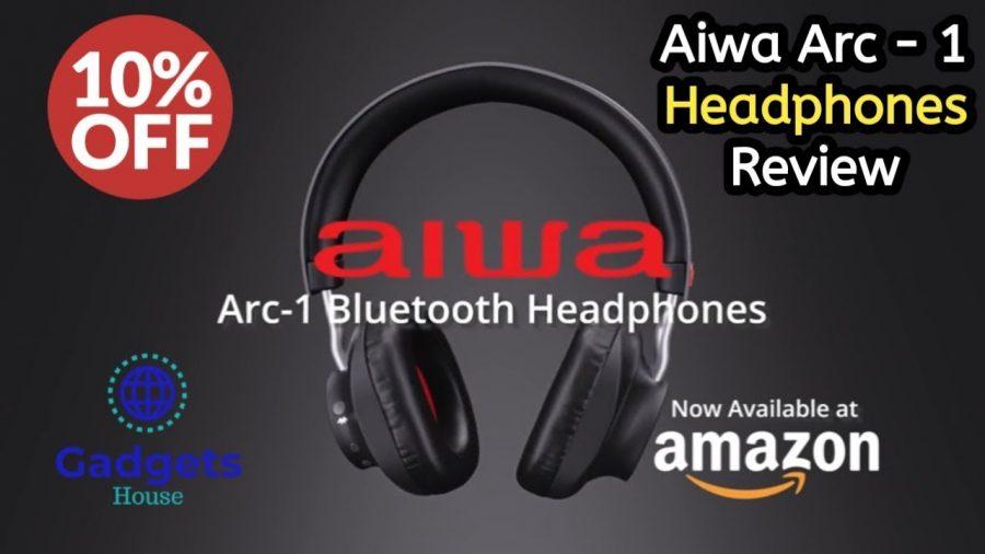 Aiwa Bluetooth Headphones 1
