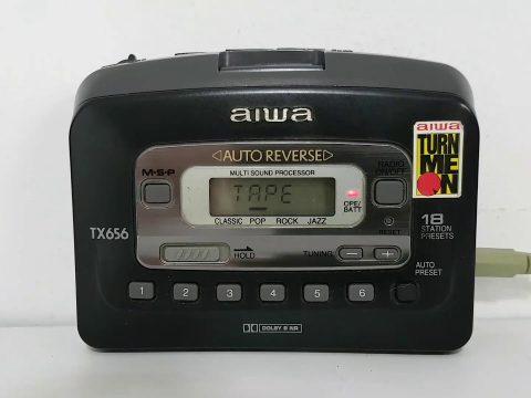 Aiwa Cassette Player 63