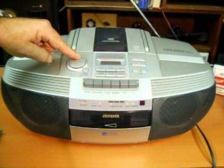 Aiwa Cassette Recorder 1