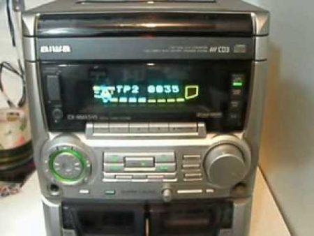 Aiwa Cd R Rw Playback Cd3 64