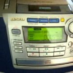 Aiwa Compact Disc Stereo Cassette Receiver 2