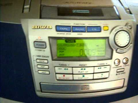Aiwa Compact Disc Stereo Cassette Receiver 1