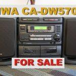 Aiwa Compact Disc Stereo System 5