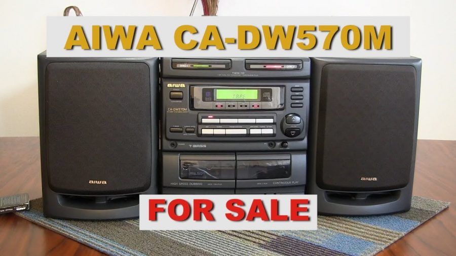 Aiwa Compact Disc Stereo System 1