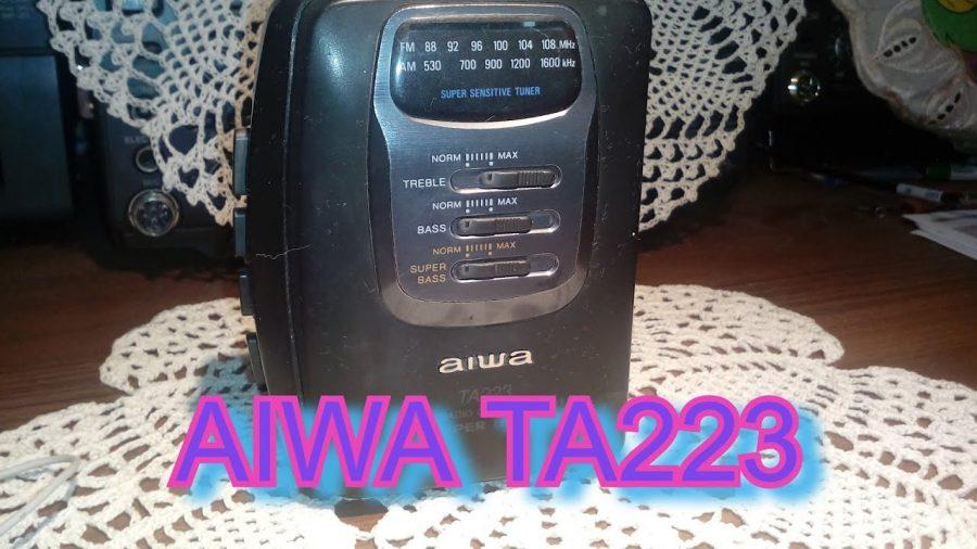 Aiwa Walkman Radio 1