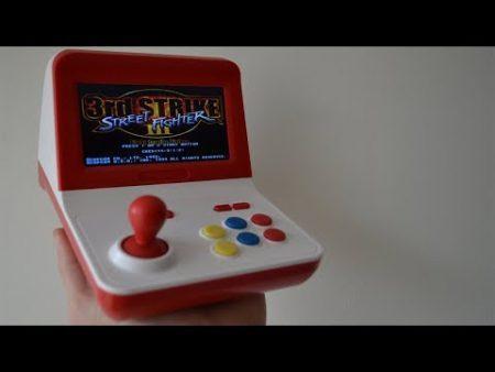 Aiwo G1000 Small Arcade Game Machine 1