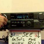 Amplificador Aiwa Av Nw30 3