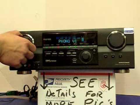 Amplificador Aiwa Av Nw30 1