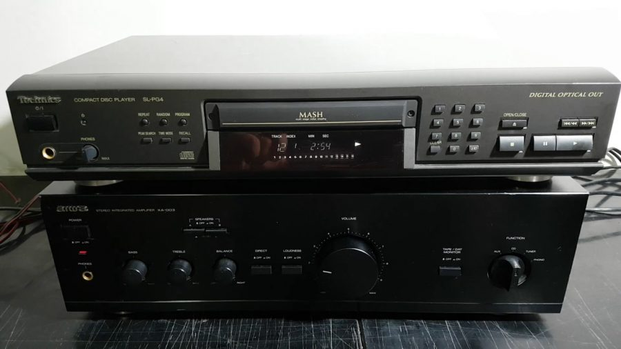 Amplificador Aiwa Xa 006 1