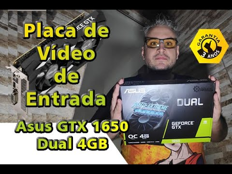 Asus Geforce Gtx 1650 Dual 4Gb Oc 1