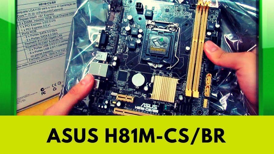 Asus H81M C Socket 1
