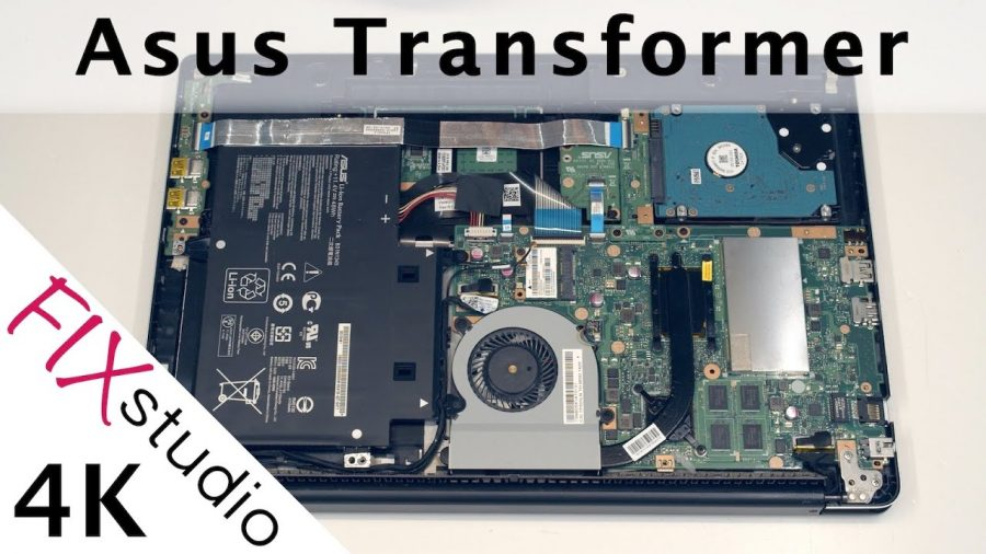 Asus Tp300L Disassembly 1