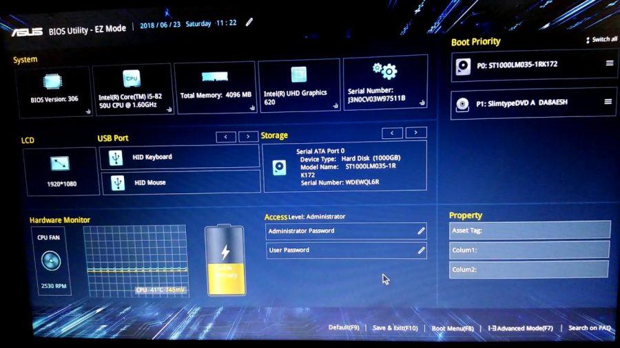 Asus Vivobook Flip I5 8250U 1