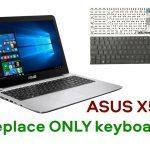 Asus X556U Keyboard Replacement 3