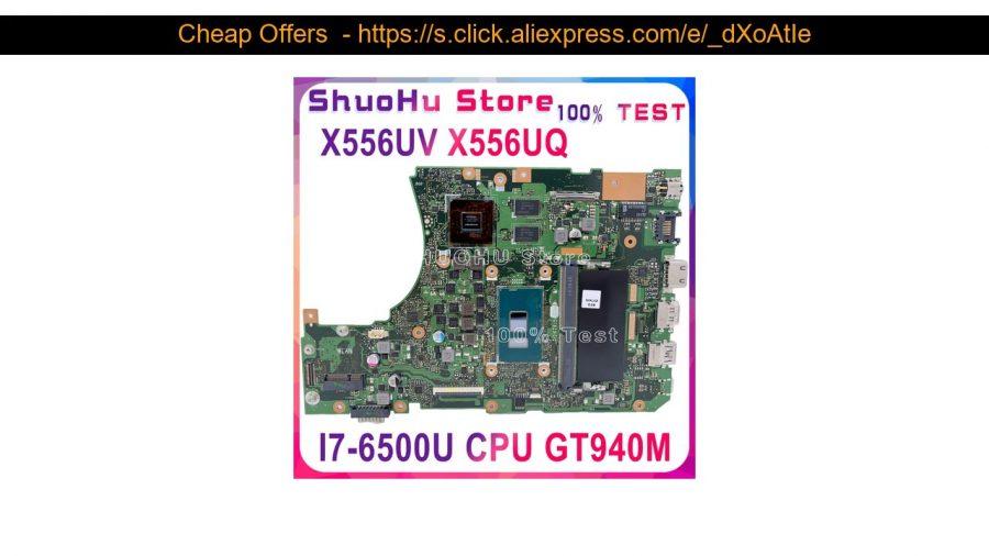 Asus X556Ua I7 6500U 1