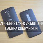 Asus Zenfone 5 Vs Moto G 5