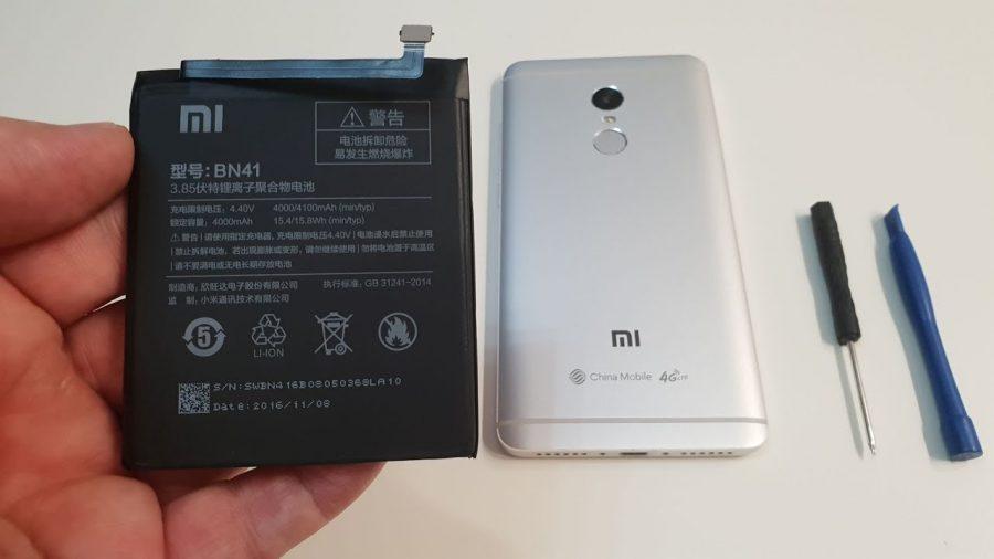 Cambiar Bateria Xiaomi Redmi Note 4 1