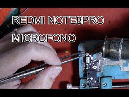 Cambiar Microfono Xiaomi Redmi Note 3 Pro 1