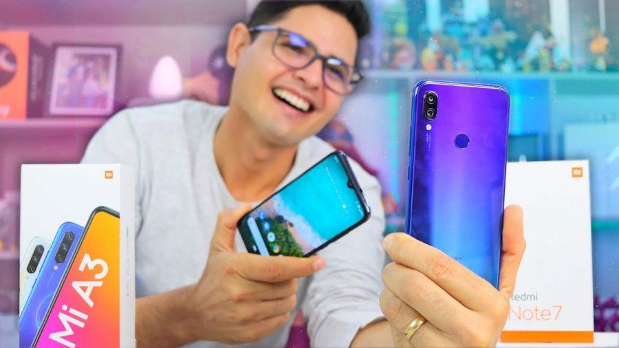 Comparar Xiaomi Mi A3 Vs Redmi Note 7 1