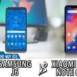 Comparativa Samsung J6 Vs Xiaomi Redmi 6 4
