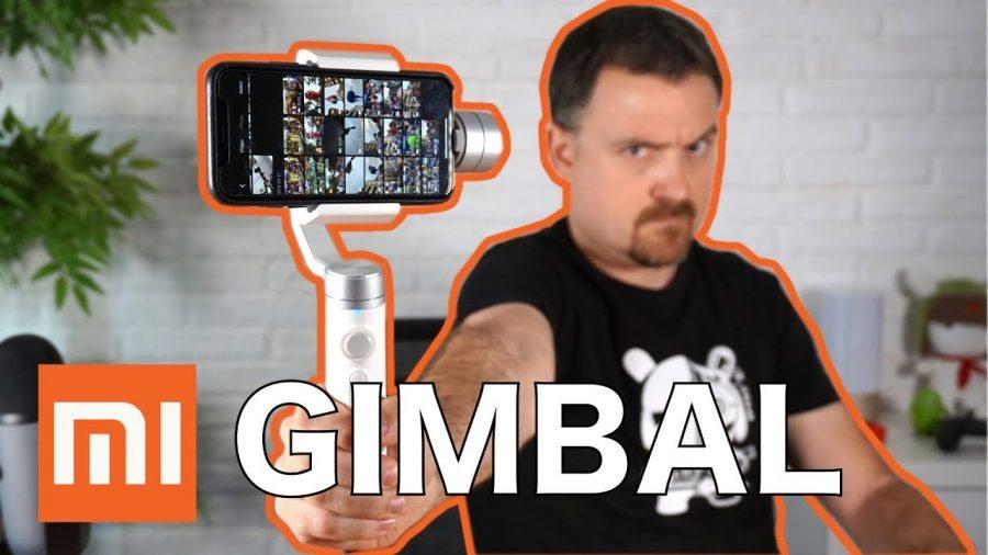 Estabilizador Xiaomi Mi Action Camera Handheld Gimbal 1