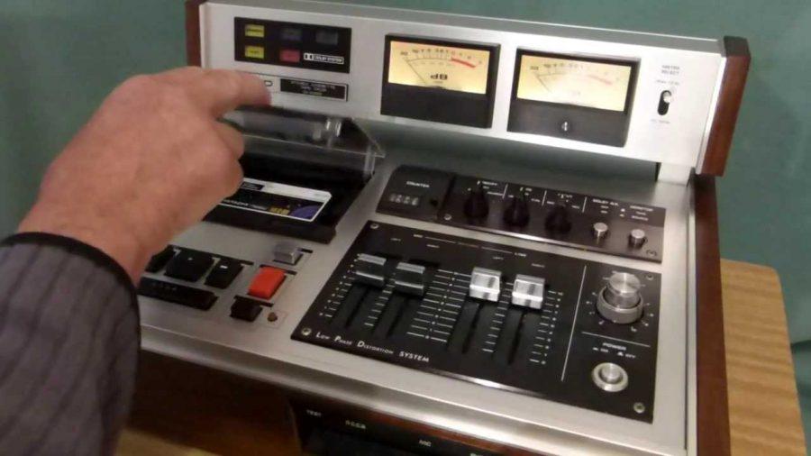 Hitachi D5500 Cassette Deck 1