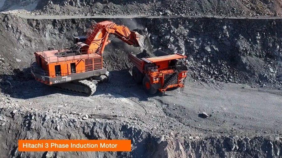 Hitachi Excavator 1