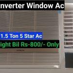Hitachi Window Ac 1.5 Ton 2