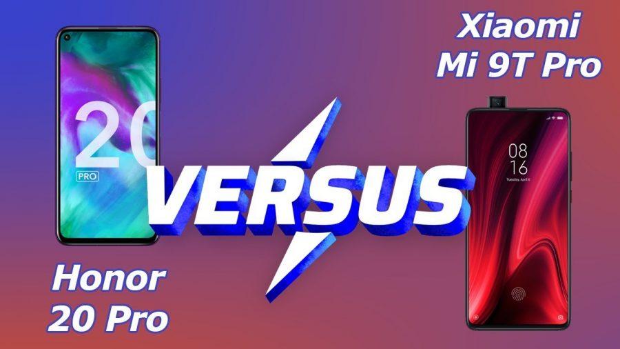 Honor View 20 Vs Xiaomi Mi 9 1