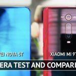 Huawei Nova 5T O Xiaomi Mi 9 2