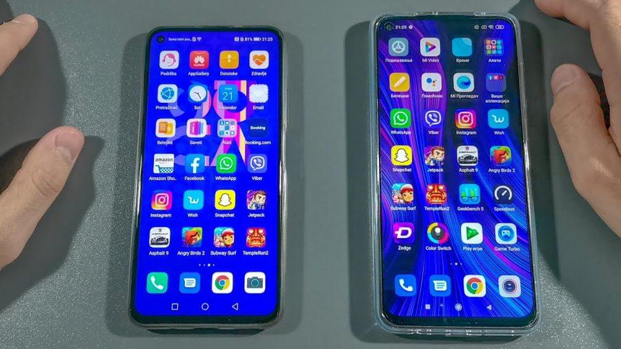 Huawei Nova 5T Vs Xiaomi Mi 9 1