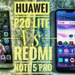 Huawei P20 Lite Vs Xiaomi Note 5 3