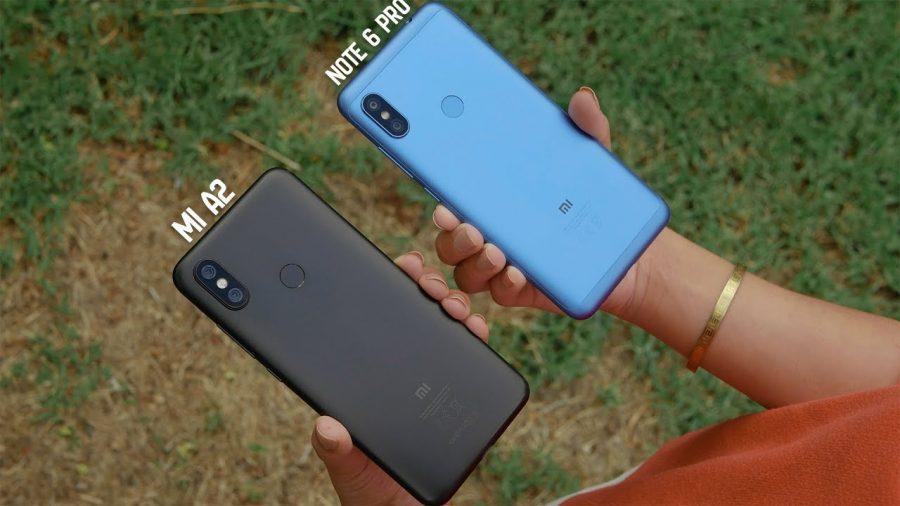 Huawei P20 Lite Vs Xiaomi Note 6 Pro 1