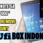 Mi Account Xiaomi Redmi Note 5A 1