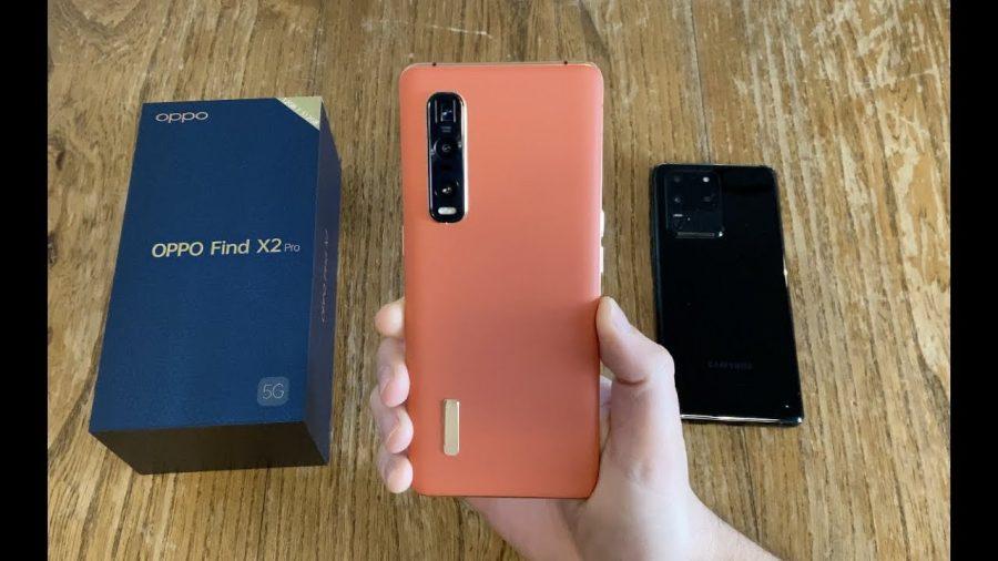 Oppo Find X2 Pro Orange 1