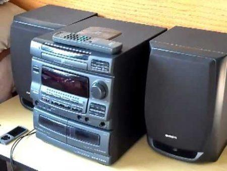 Radio Cassette Cd Aiwa 1
