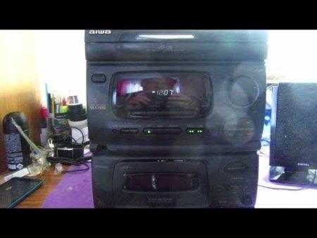 Radio Despertador Aiwa 1