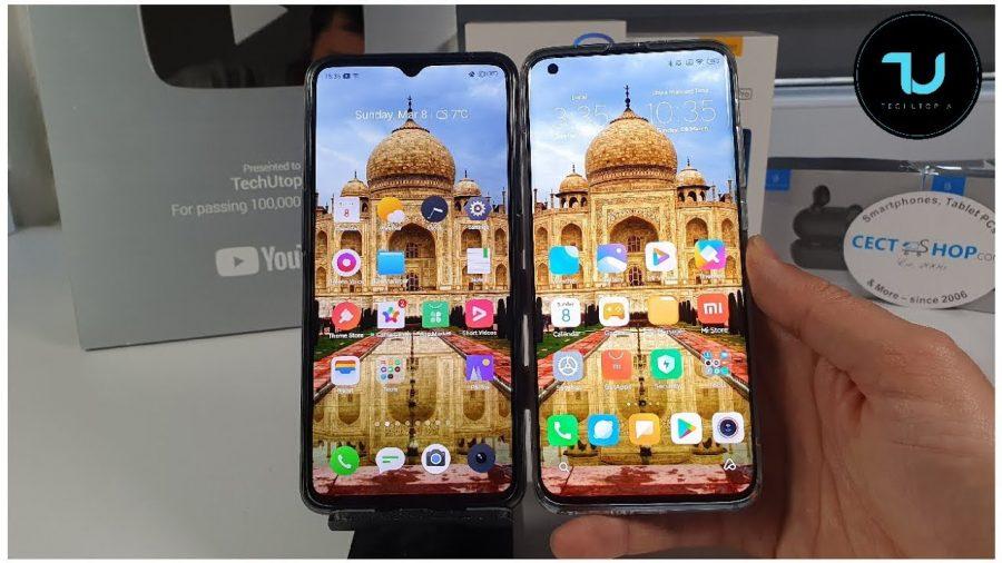Realme X2 Pro O Xiaomi Mi Note 10 1