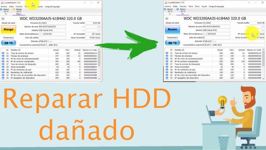 Reparar Disco Duro Hitachi 1