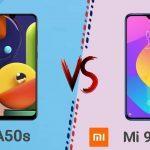 Samsung Galaxy A50 Vs Xiaomi Mi 9 Lite 5