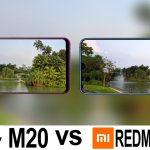 Samsung Galaxy M20 Vs Xiaomi Redmi Note 7 1