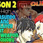 Shohoku Vs Aiwa Manga 2