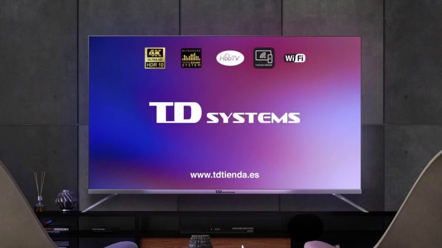Td Systems K55Dly8Us Uhd 4K Smart Tv 1