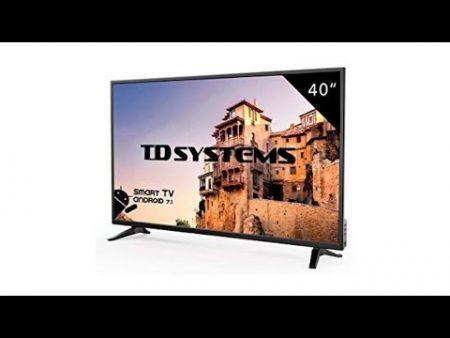 Televisor Td System Pantalla En Negro 1