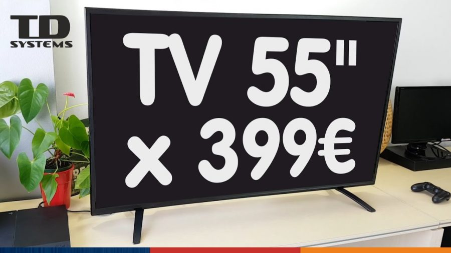 Tv 55 Led Ultra Hd 4K Td Systems K55Dlm8U 1