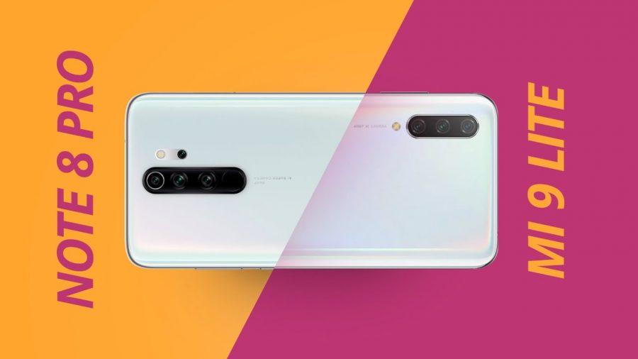 Xiaomi 9T Vs Mi 8 1
