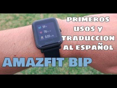 Xiaomi Amazfit Bip A1608 Smartwatch Color Rojo 1