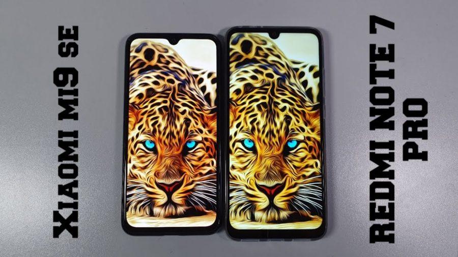 Xiaomi Mi 9 Se Vs Xiaomi Redmi Note 7 1