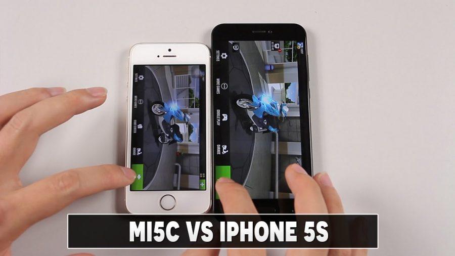 Xiaomi Mi A1 Vs Iphone 5S 1