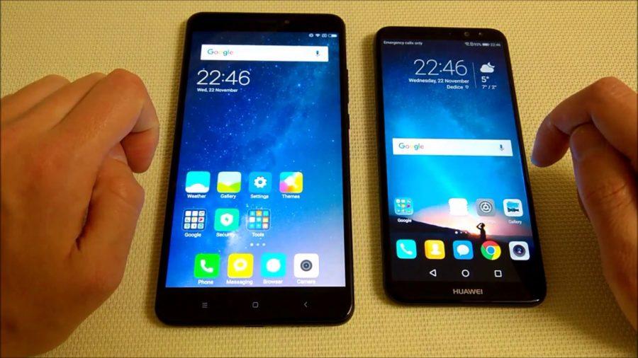 Xiaomi Mi A1 Vs Max 2 1